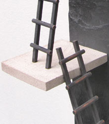 click on other image for details, detail image of sculpture